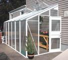 گلخانه های خانگی آلومینیومی